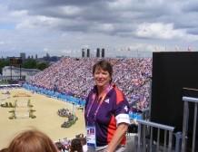 Jenny at the Olympics